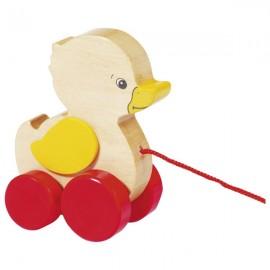GOKI koka velkamā rotaļlieta ar striķīti - Pīlēns