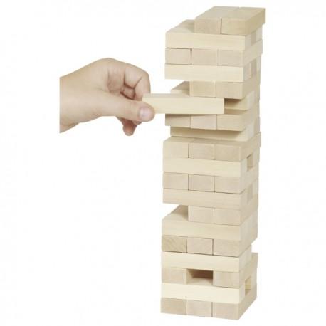 JENGA, GOKI dabīgā koka galda spēle-TORNIS