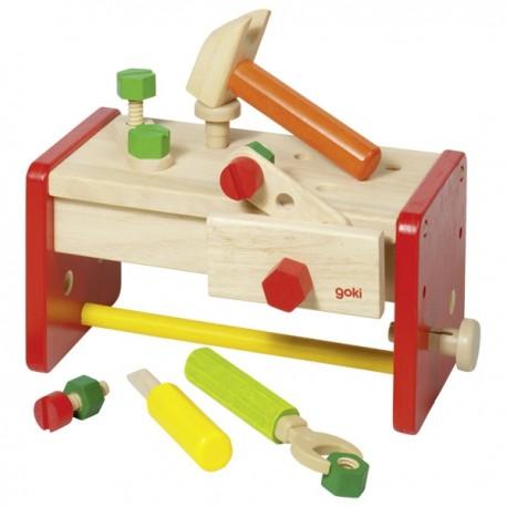 GOKI koka instrumentu komplekts ar kasti