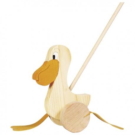 GOKI Stumjamais pelikāns - nekrāsots, ar mietiņu
