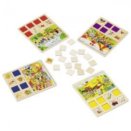GOKI Koka spēle bērniem - LOTO
