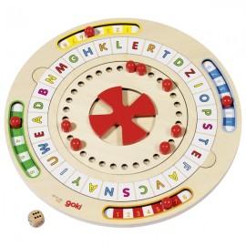 GOKI Koka spēle bērniem - ciparu un vārdu dzirnavas
