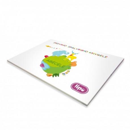 Lipo 3D krāsojamā grāmata burti