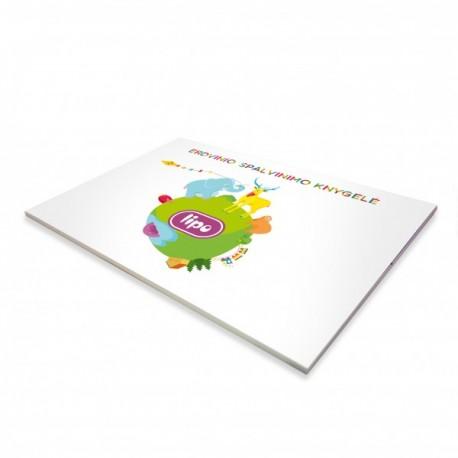 Lipo 3D krāsojamā grāmata bildes