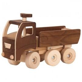 GOKI dabīgā koka smagā kravas mašīna ar paceļamu piekabi