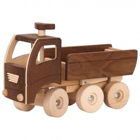 GOKI натуральново дерево грузовик  с прицепом