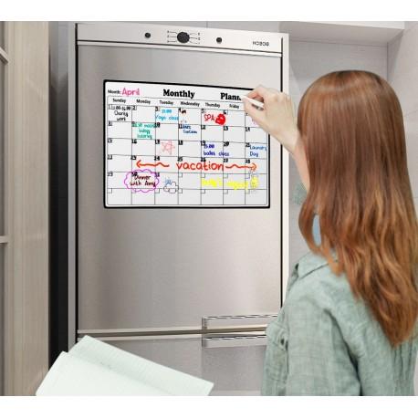 Магнитная доска на холодильник для планирования семейного месяца в виде календаря