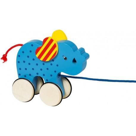 GOKI Velkams zilonis - zils, ar striķīti