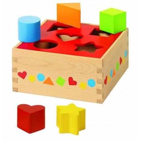 GOKI Koka Figūru kaste - 5 formas