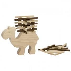 GOKI dabīgā koka kamielis - balansa spēle