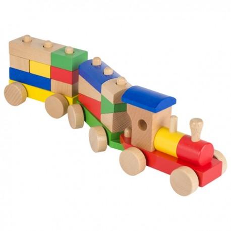 GOKI koka vilciens