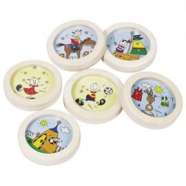 GOKI Pinball koka rotaļlieta ar tērauda bumbiņām