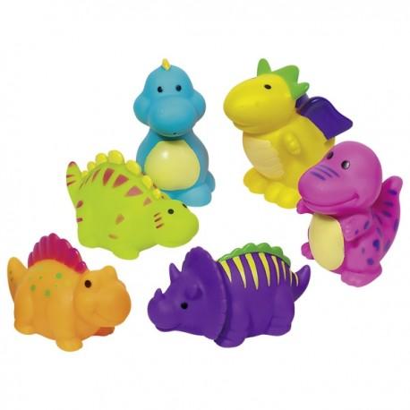 GOKI vannas rotaļlieta - strūklaka Dinozaurs