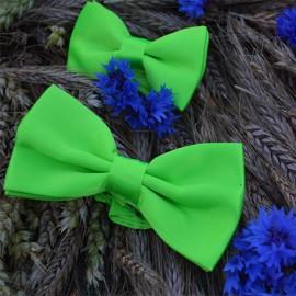 Koši zaļš tauriņu komplekts (divdaļīgs) - tētim un dēlam